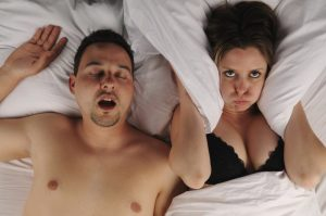 Snorking og antisnorkeskinne