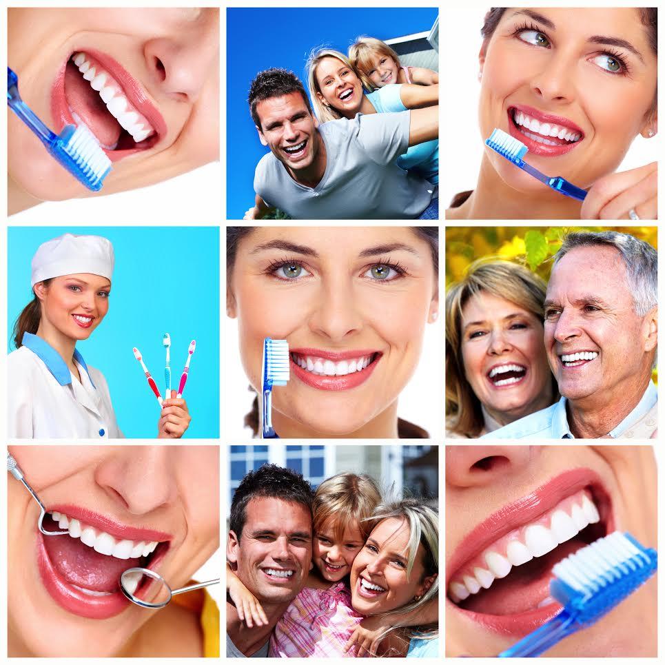 Nydelige smil fra tannbørster